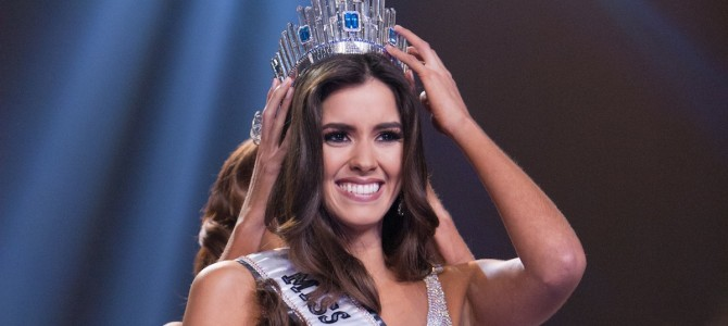 Paulina Vega de Colombia se corona como Miss Universo