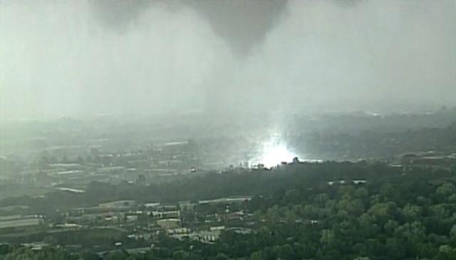 Lee's Summit se vió afectado por una tormenta y tornados anoche.