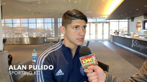 Alan Pulido de Sporting KC